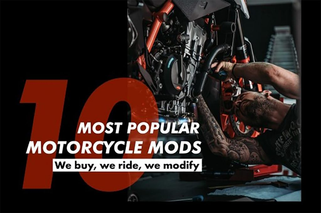 10 most popular motorcycle mods