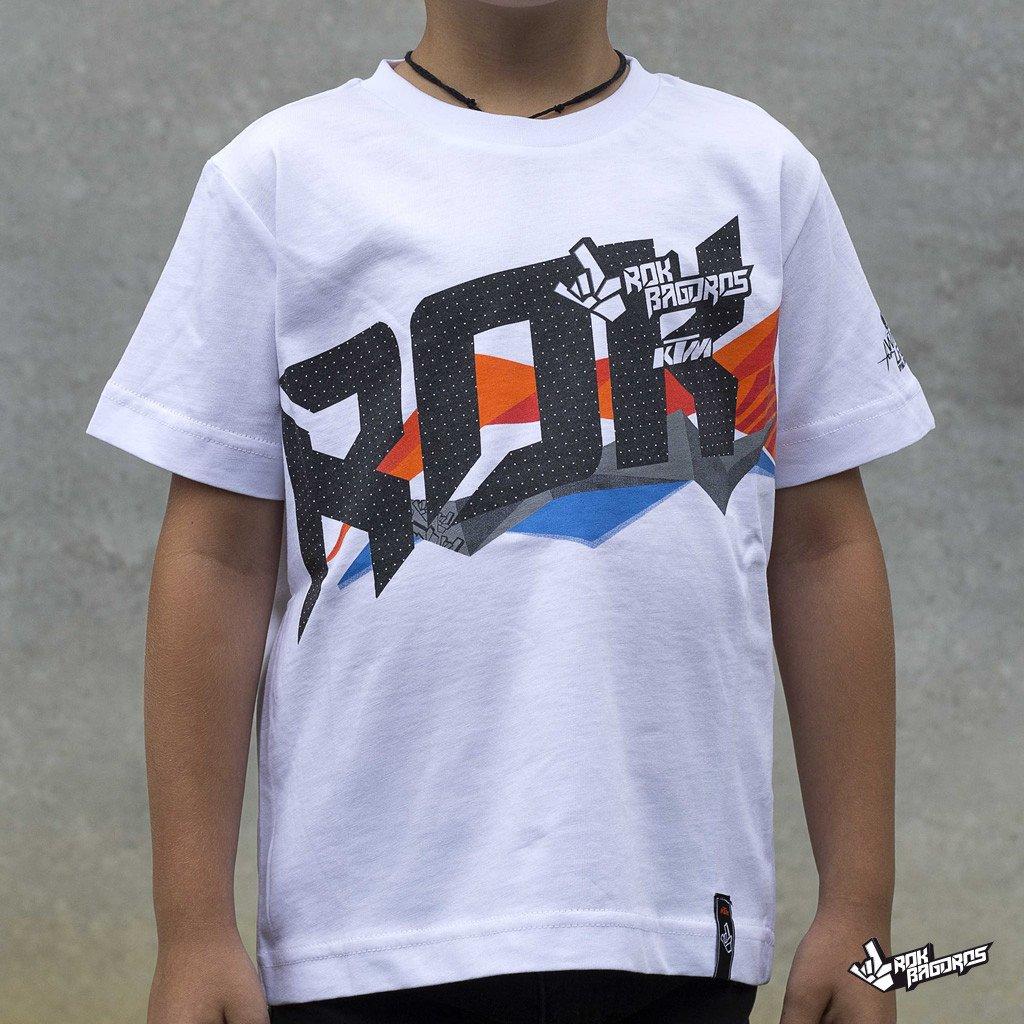 RokON KTM White Shirt - KIDS