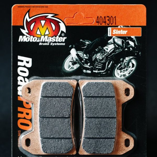 404301 Moto Master - Rear Brake pad RoadPRO Sinter FRONT