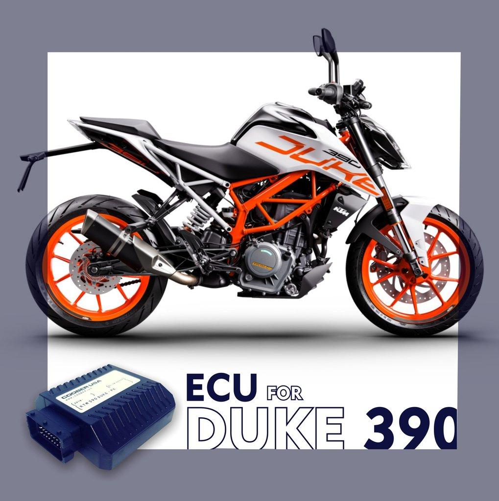 Coober ECU -  KTM 390 Duke and RC 390 MY 2017 - 2020
