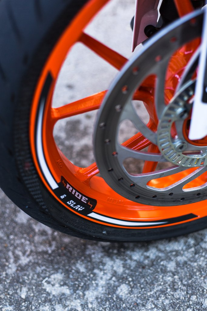 2020 ROKON STICKER KIT FOR KTM DUKE 125 / 250 / 390 MY 17+  LIMITED EDITION 