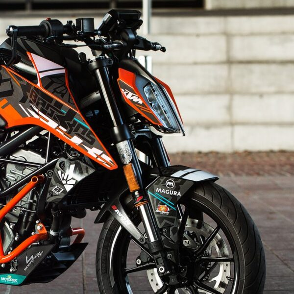 2020 ROKON STICKER KIT FOR KTM DUKE 125 / 250 / 390 MY 17+ |LIMITED EDITION|