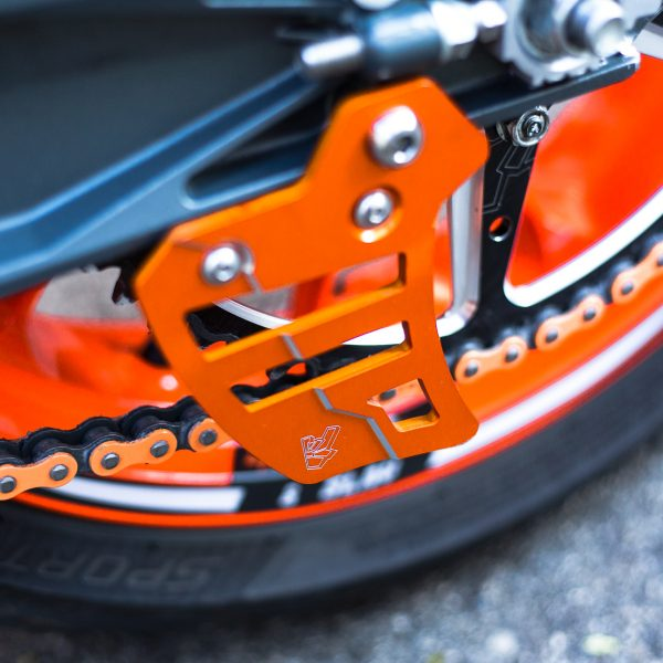 TOE CHAIN GUARD - DUKE 790 / 890R