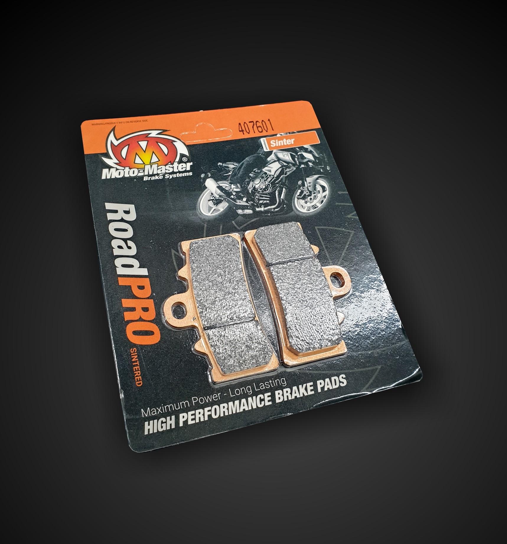 407601 Moto Master -  Brake Pad RoadPRO Sinter Front