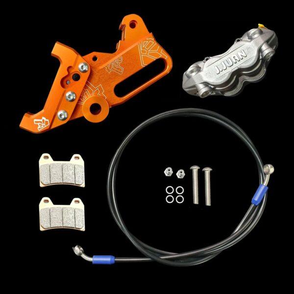 DUAL CALIPER BRACKET - KTM RC 125 / 200 / 250 / 390