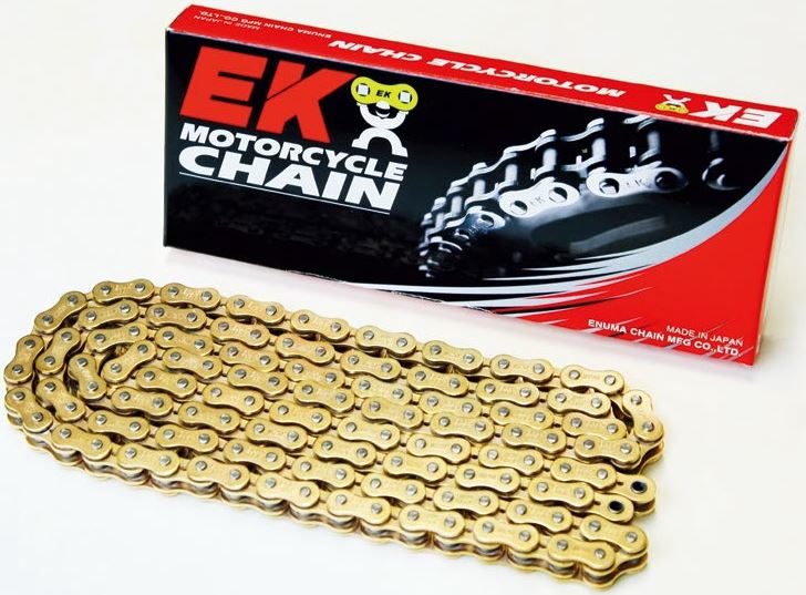 CHAIN EK 525 MVXZ2 112 LINKS - GOLD