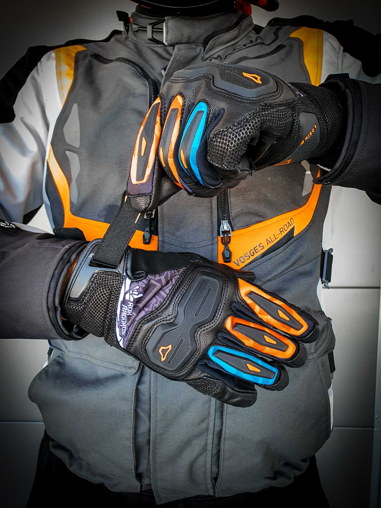 Motorcycle gloves - Macna HAROS | Rok Bagoros Edition |