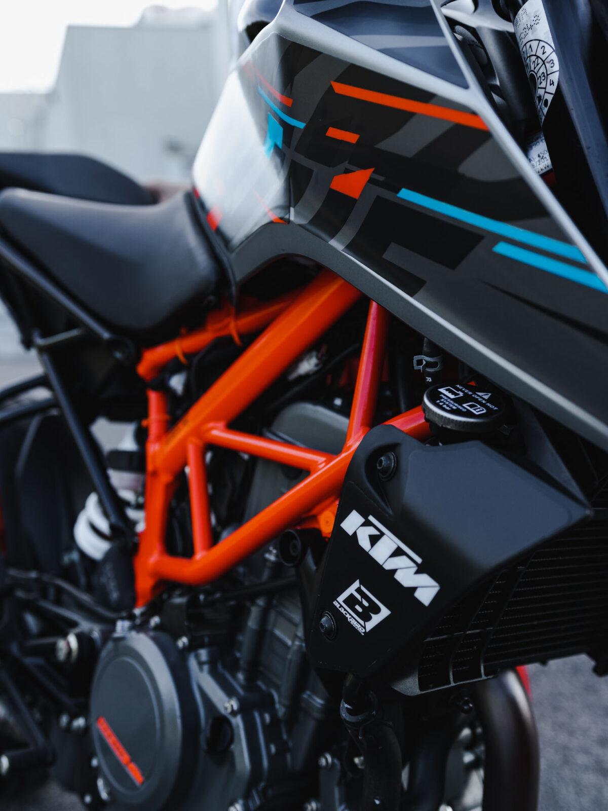 Rok Bagoros sticker kit The Mad rabbit 2021 for KTM DUKE 125 200 250 390