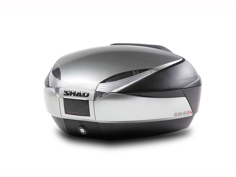 SHAD SH48 Titanium Grey Top Box Cover - D1B48E15
