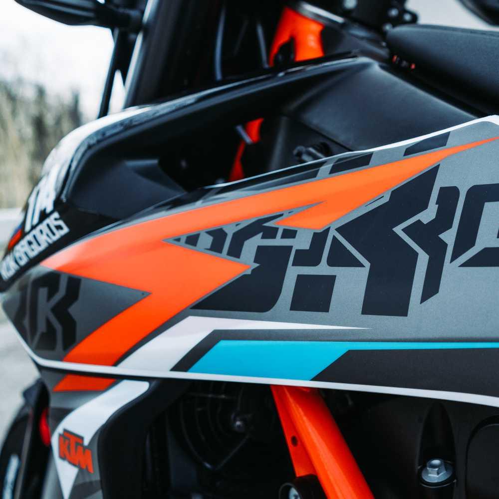 Sticker Kit KTM 690 SMC R 2020 Bagoros Performance