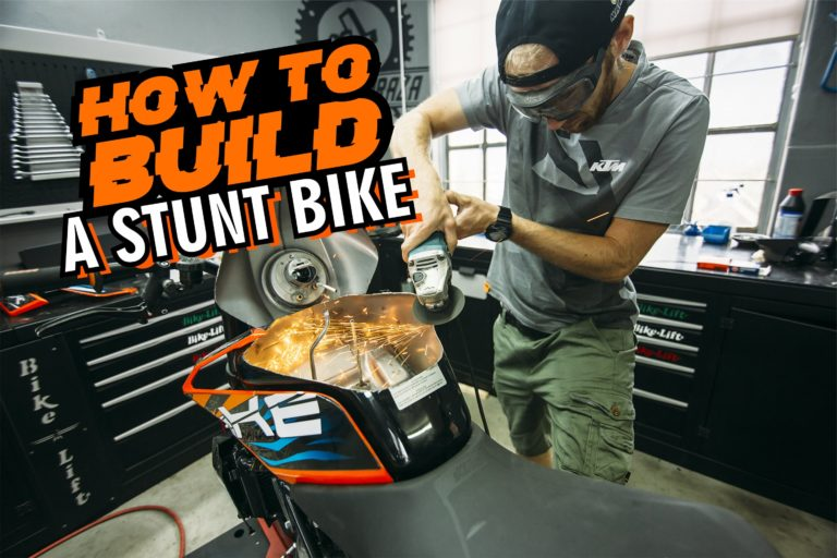 How to build a stunt bike