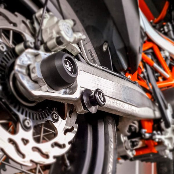 Rear Spindle Sliders ktm smcr 690 duke