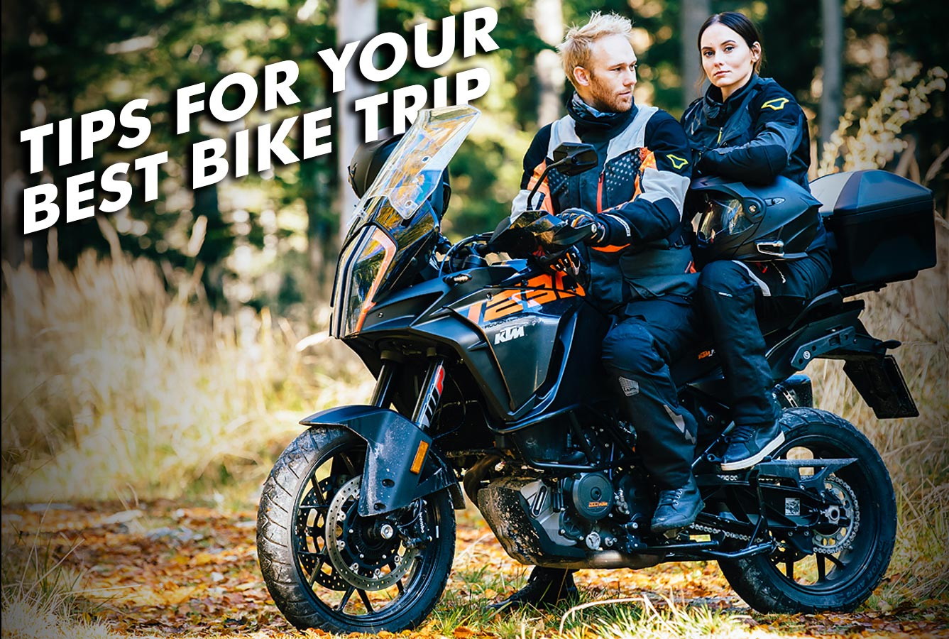 Tips for a perfect bike trip